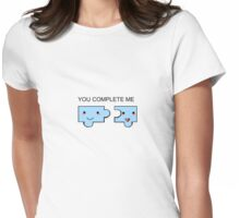 Puzzle peices Womens Fitted T-Shirt