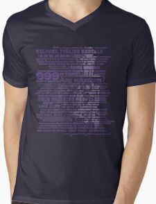 I am your host, your Ghost Host. Mens V-Neck T-Shirt