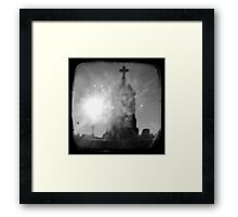 Guiding Light - TTV Framed Print