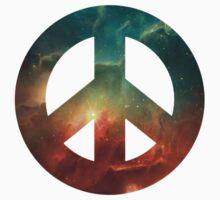 Galaxy Peace Symbol One Piece - Short Sleeve