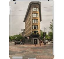 Gas Town, Vancouver, Canada iPad Case/Skin