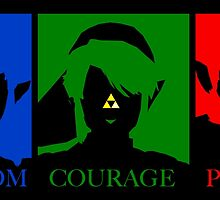 Triforce Wisdom Courage Power by TroyBolton17