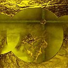 Wall Art Design- (Yellow )Gold design by haya1812