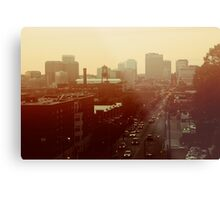 The City Lights-View from Richmond, Va Metal Print