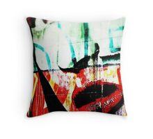 Melbourne - Grafitti Street - Hosier Lane - Victoria - Australia Throw Pillow