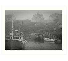 Harbour Mist Art Print