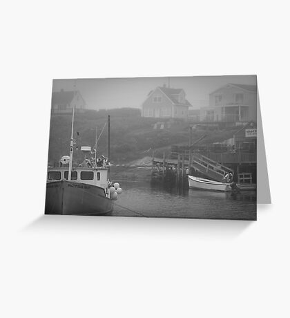 Harbour Mist Greeting Card
