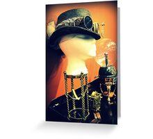 Steampunk Display 1.1 Greeting Card