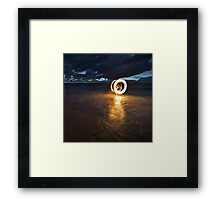 Fire & Water I Framed Print