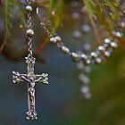 Nana Elsie's rosary beads by Robyn Bohlen