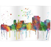Trenton, New Jersey Skyline Poster