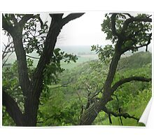 Loess Hills Morning Poster