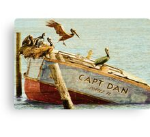 Captain Dan Canvas Print
