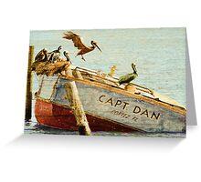 Captain Dan Greeting Card