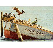 Captain Dan Photographic Print