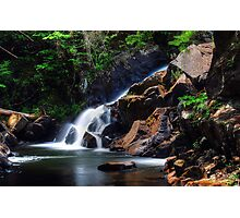 Northwest Bay Brook Falls - Bolton Landing NY Photographic Print