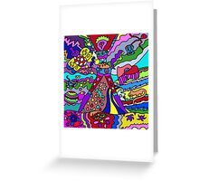 Abstract 12 Greeting Card