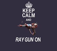 Keep Calm and Ray Gun On Unisex T-Shirt