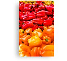 Bell Peppers anyone? Canvas Print