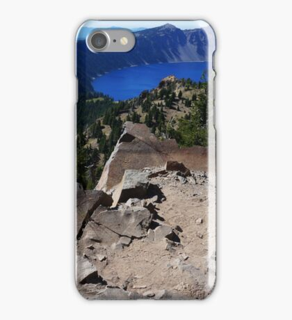 Crater Lake from Garfield Peak Trail iPhone Case/Skin