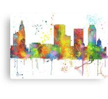 Tulsa, Oklahoma Skyline Canvas Print