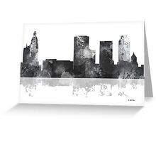 Tulsa, Oklahoma Skyline -  Greeting Card