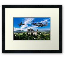 Royal Ascent Framed Print