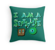I Am A Septiplite. Throw Pillow