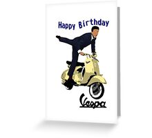 vespa Birthday card Greeting Card