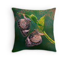 2 Spirits Throw Pillow