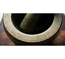 Mortar & Pestle... Photographic Print