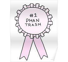 #1 Phan Trash Poster