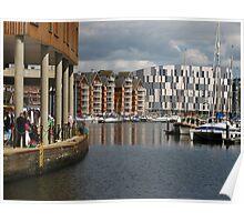 'Browsing', Ipswich Waterfront Poster
