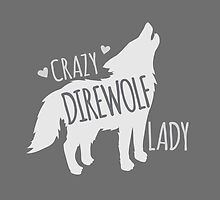CRAZY Direwolf lady by jazzydevil