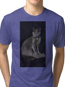 elegant blue russian Tri-blend T-Shirt