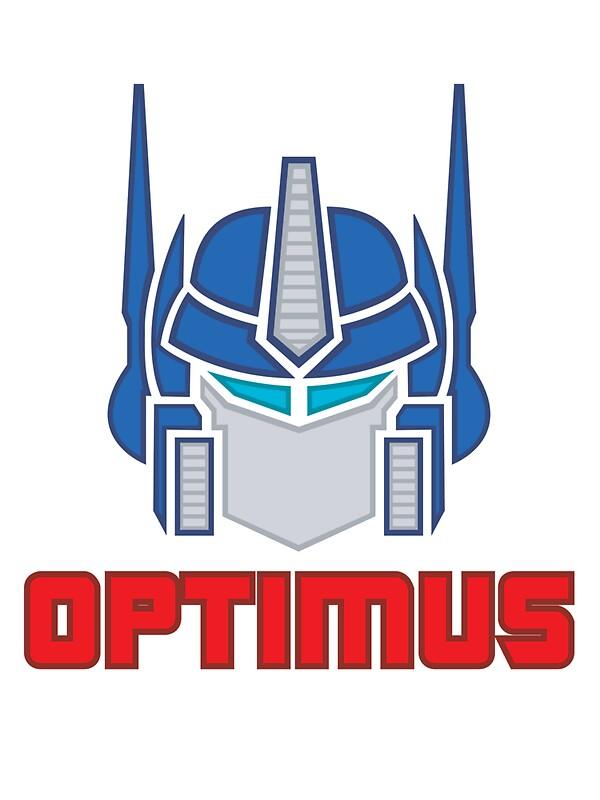 Quot Optimus Prime Logo Quot Stickers By Toon Alchemist Redbubble