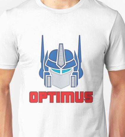 Optimus Prime Logo Unisex T-Shirt