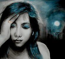 dark is the night by Carol Fan