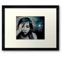 dark is the night Framed Print