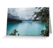 Maligne Lake 5 Greeting Card