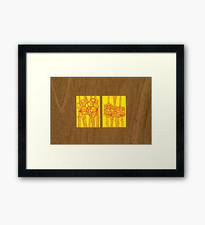 Tiny Diary: Lovingly... Framed Print