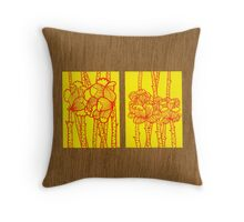 Tiny Diary: Lovingly... Throw Pillow