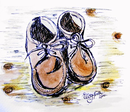 These boots are made for walking.... by Elizabeth Kendall