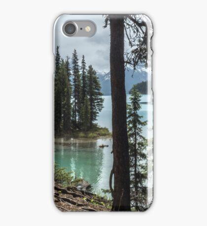 Sacred Island, Maligne Lake 2 iPhone Case/Skin