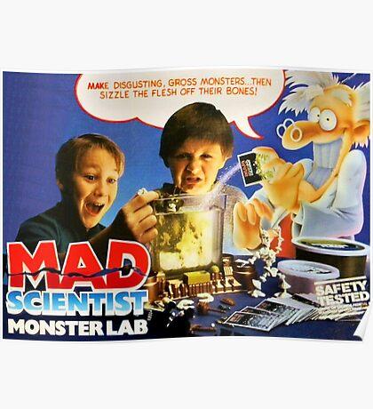 MAD SCIENTIST - MONSTER LAB  Poster