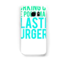 Working Out The Poor Man's Plastic Surgery Samsung Galaxy Case/Skin