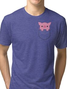 Pocket Pork Tri-blend T-Shirt