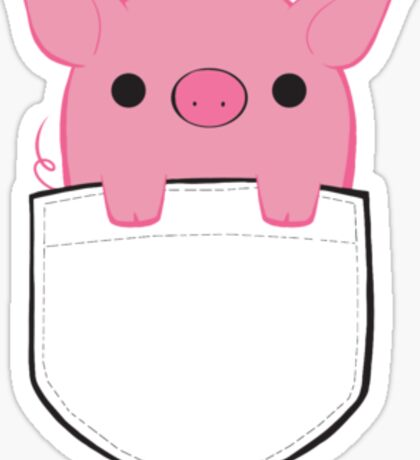 Pocket Pork Sticker