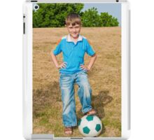 At the beginning of the soccer game iPad Case/Skin