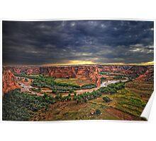 Anasazi Territory Poster